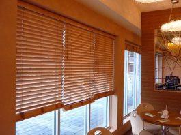 rèm cửa bằng gỗ 1