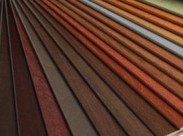 rèm gỗ đa dạng màu