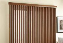 rèm gỗ lá dọc