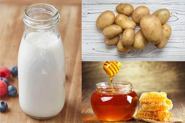 khoai tây sữa tươi mật ong