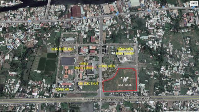 vị trí west gate trên maps google