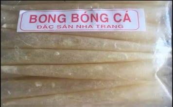 Bong Bóng Cá - Đặc Sản Nha Trang Làm Quà độc Lạ