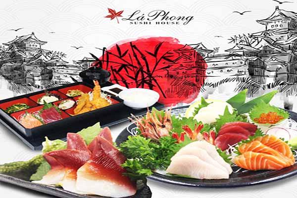 Lá Phong Sushi House - Quán Ngon Trần Cao Vân Quận 1