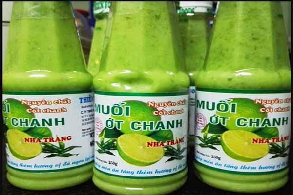 Muối Chanh Ớt Nha Trang